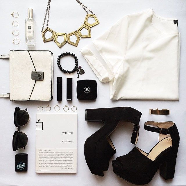 Off Figure This Flat Lay Has A Minimal Style With A