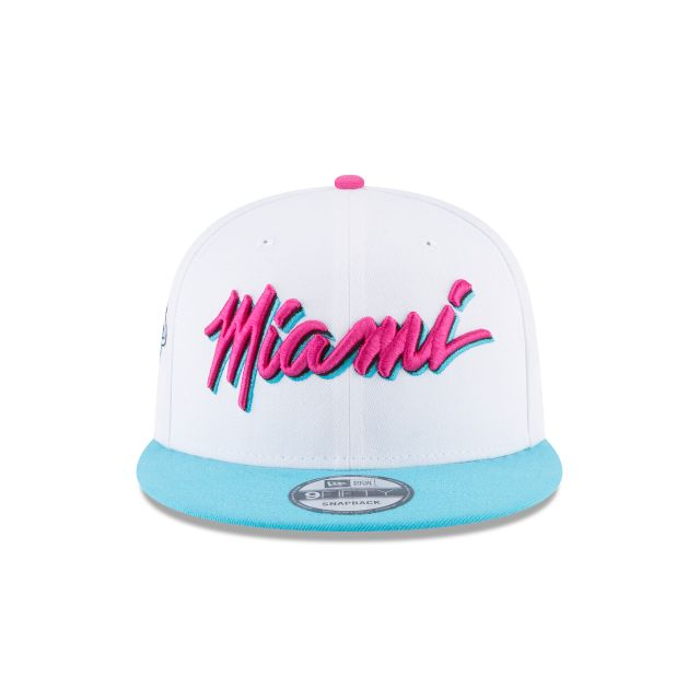 MIAMI HEAT CITY SERIES 9FIFTY SNAPBACK Front view