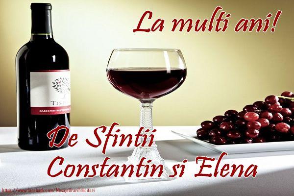 La multi ani De Sfintii Constantin si Elena