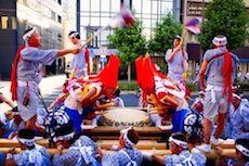Matsuri, ovvero le feste giapponesi (in genere shintoiste) si possono trovare in tutte le città del Giappone e sono molto frequenti in quanto segnano i vari cambiamenti del clima, oppure omaggiano una ricorrenza storica, culturale o possono indicare un rito di passaggio (come la maggiore età) oppure ancora possono rappresentare una credenza popolare o shintoista.atsuri in giappone