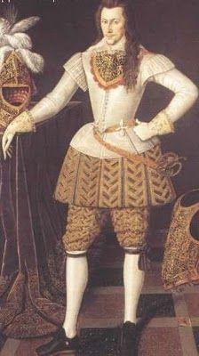 Os homens tinham cabelos abaixo dos ombros, usavam o rosto barbeado mas deixavam um bigode. As roupas masculinas eram muito enfeitadas: chapéus de abas largas e pluma, os cabelos longos e com grandes cachos, o uso de perucas a partir de 1660.