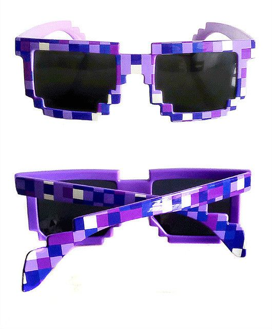 Deal with it,Thug Life Glasses (Pixel) Women Men Sunglasses
