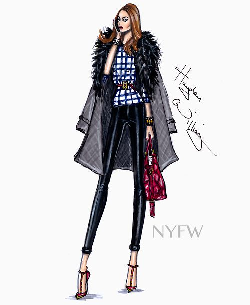 Fashion Week Style by Hayden Williams: #NYFW| Be inspirational  ❥|Mz. Manerz: Being well dressed is a beautiful form of confidence, happiness & politeness