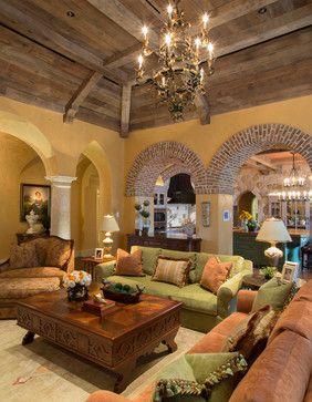 Mediterranean Living Room Design Ideas, Pictures, Remodel and Decor