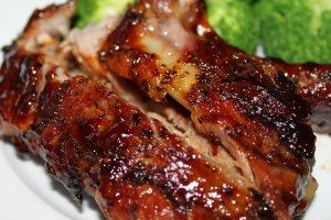 Oven Slow Cooked Baby Back Ribs