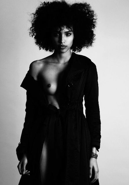 """Do not miss Avril GUERRERO, 19 year old, fresh Afro & frizy Dominican supermodel! Find out in our """"MODELS"""" of MAGSC;  http://www.stylecode.es/espaciosc/espaciosc.php?id=3"""