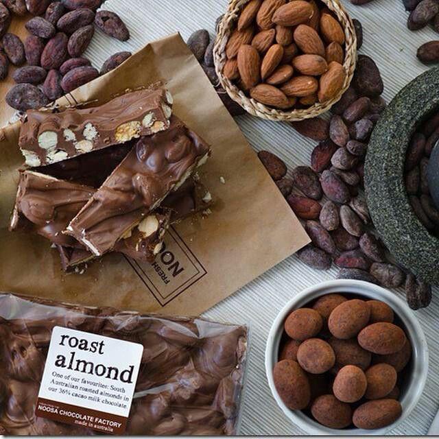 Chocolate Dessert of Noosa Chocolate Factory @ Brisbane, Australia