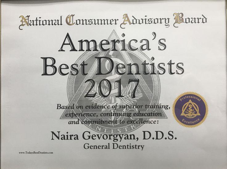 AMERICA'S Best Dentist    ⋆ 2017 ⋆