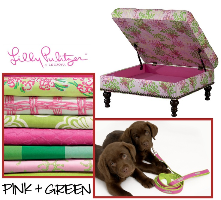 My Scottie Dog has a better idea…fill it with Dog toys and the Lilly Pulitzer ottoman can become yet another Dog Bed for my rescued Pooch.