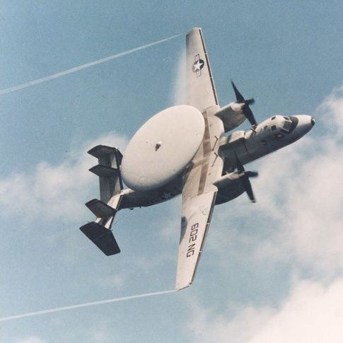 Why are US Navy planes with large satellite dishes on top often flying around the airport in Charlottesville, VA? - Quora