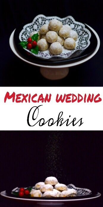 Mexican Wedding Cookies/Polvorones  Anise and cinnamon infused, melt in the mouth, buttery Mexican wedding cookies.Dead simple to make and addictive to the core.