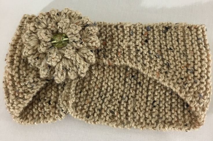 A personal favorite from my Etsy shop https://www.etsy.com/ca/listing/539053753/knitted-oatmeal-flower-ear-warmer