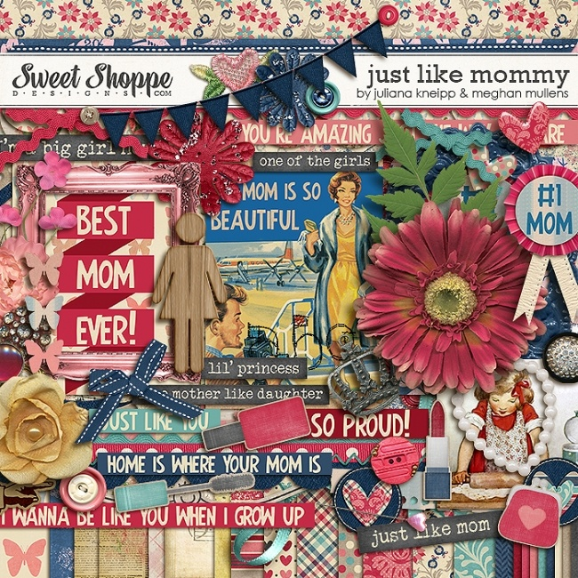 Just Like Mommy by Ju Kneipp and Meghan Mullens