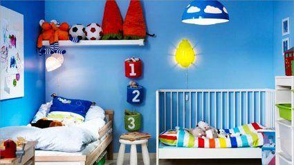 Choisir du bleu pour la chambre d enfant search - Chambre d enfant bleu ...
