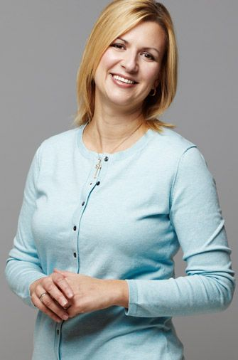 """Anna Olson - Anna truly enjoys life, saying, """"the favourite part of my job is that it never feels like work""""."""