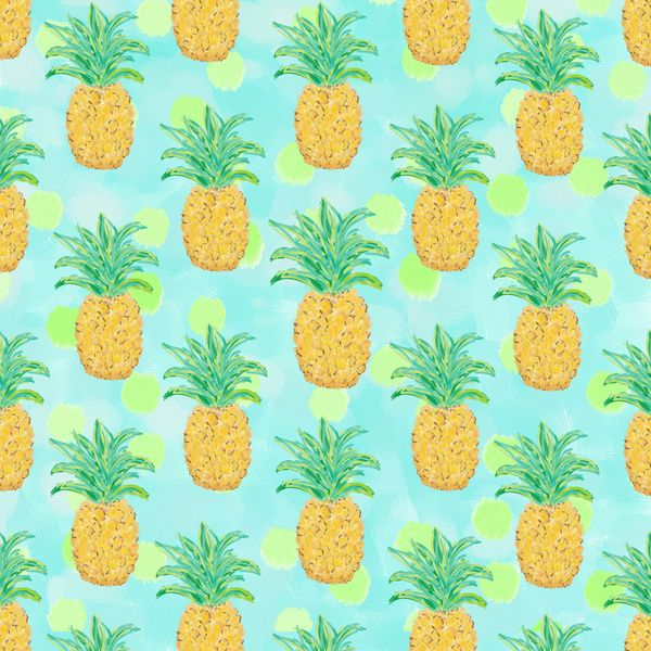 Pineapples and Polka Dots -Lisa Argyropolos