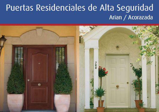 Puertas Blindadas Residenciales | Fabrica de Puertas blindadas ...