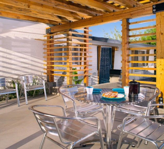 Pergola Chair Designs