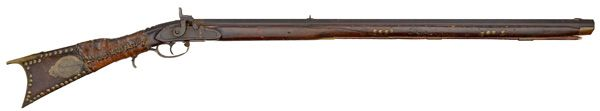 Full-Stock Indian Percussion Rifle from the Jim Richie Collection (4/26 and 4/27 - Firearms and Militaria: Live Salesroom Auction )