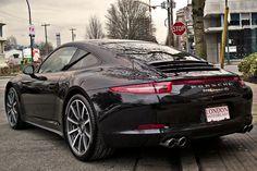 Porsche 911 (991) 4S Basalt Black