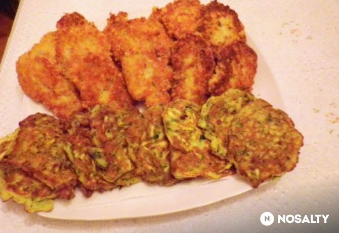 Sajtbundában sült csirkefasírt