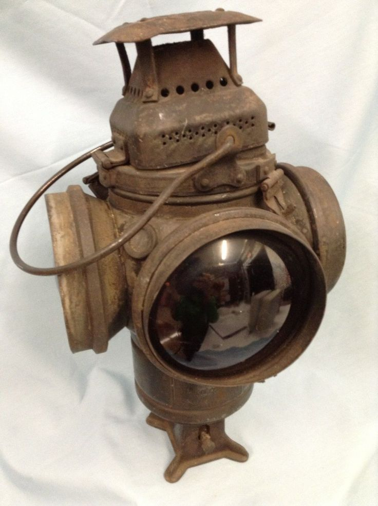 Railroad Lantern Adlake Non Sweating Lamp Chicago   eBay ...