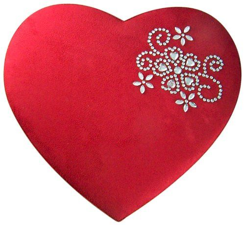 Romantic Valentines Gift For Her HUGE Heart Shape Felt Candy Box With  Chocolates