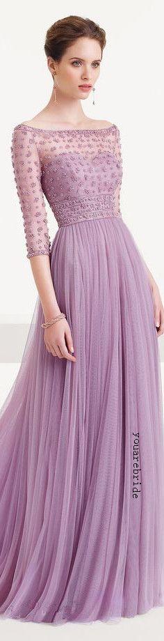 mint purple prom dress