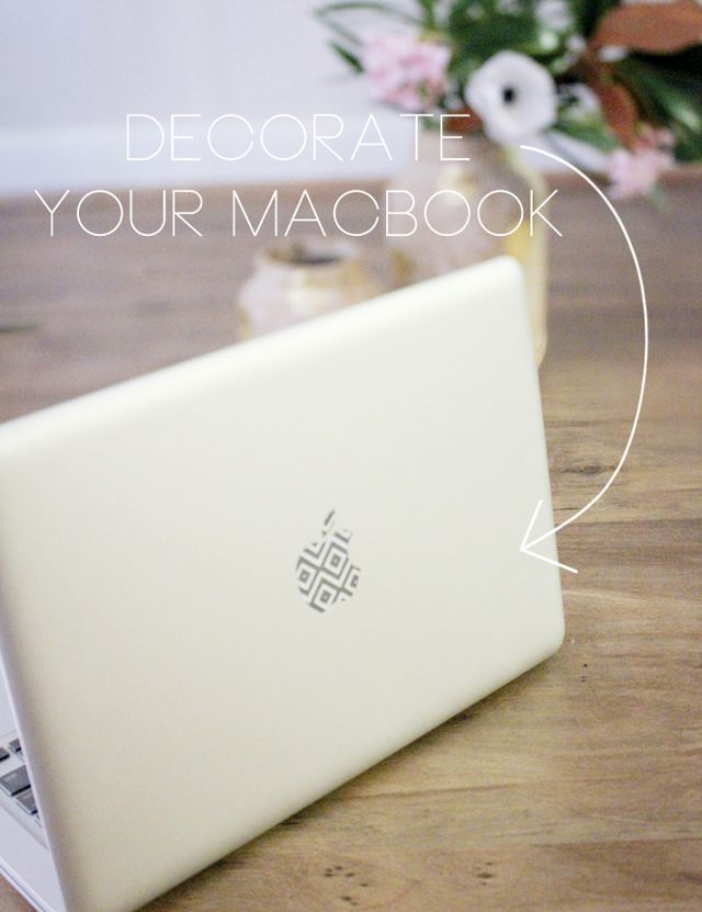 hello hydrangea: Pretty Patterns: Decorate Your Macbook