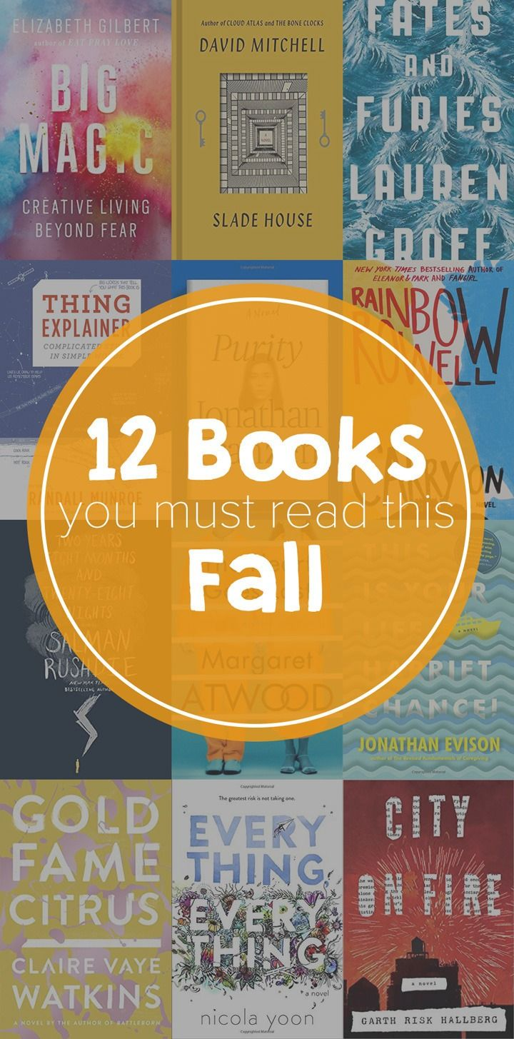 This Fall, Cozy Up With These 12 Mustread Books