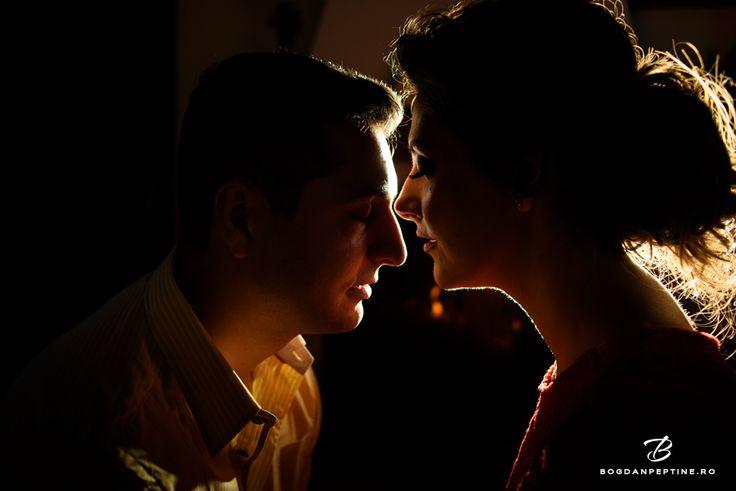 Sedinta foto de logodna la Hadar Chalet - Monica si Ionut