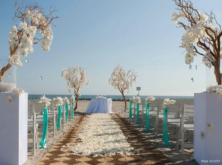 139 best Beach Wedding Ideas images on Pinterest Beach weddings