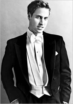 Portrait of Prince William of Wales (later The Duke of Cambridge) for his 21st birthday.