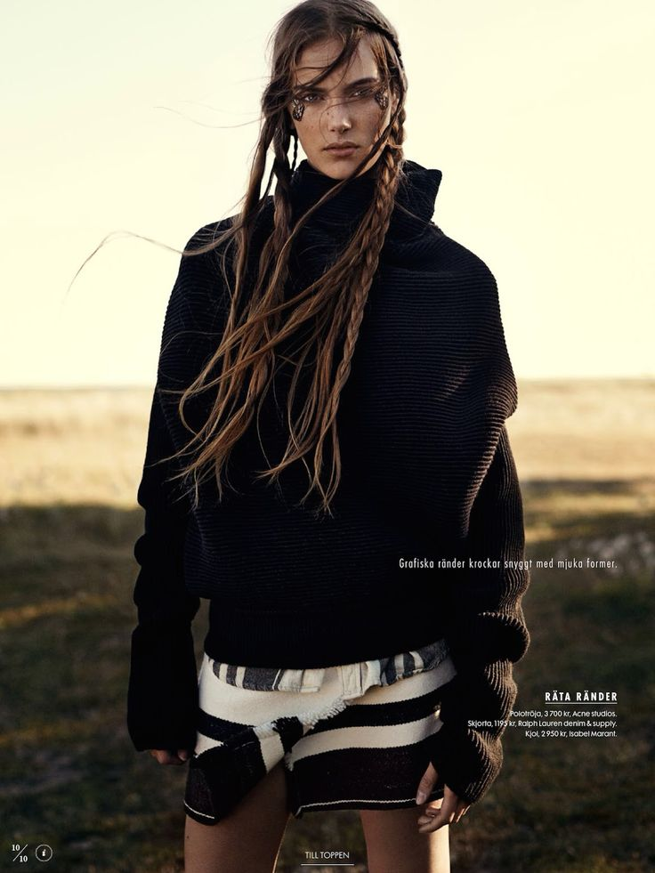 naturbarn: stina olsson by eric josjö for elle sweden stylist Lisa Lindqwister november 2014