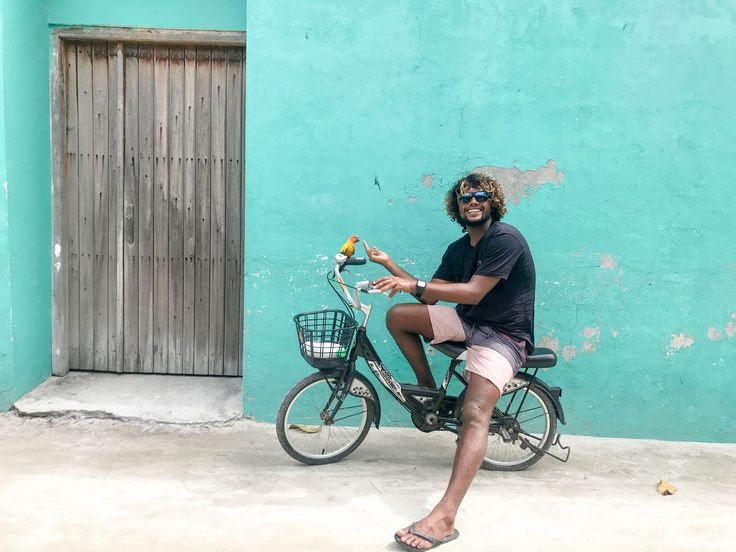 Smiles and bikes! #visitmaldives #islandlife #thulusdhoo #travel #bucketlist #discover