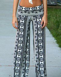 Palazzo Pants For Women | Cheap White, Chiffon And Black Palazzo Pants Online At Wholesale Prices | Sammydress.com