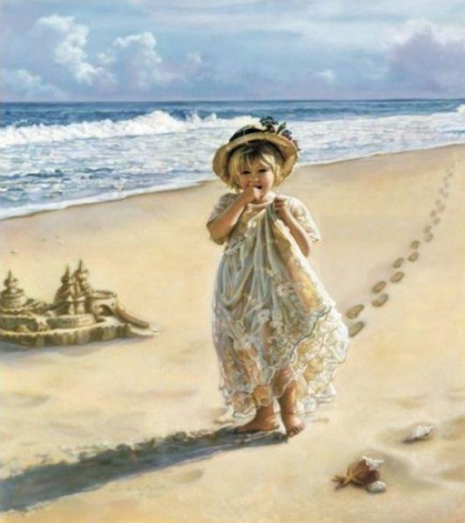 Юбилей лет, открытки ретро на море