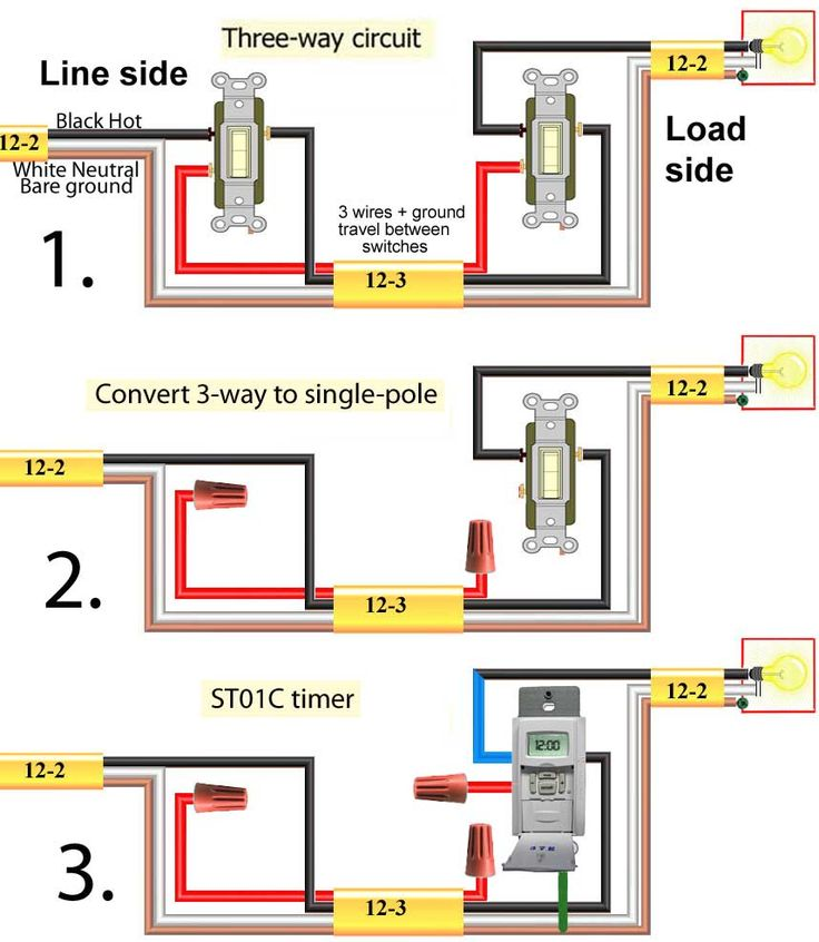 10 best Electricity- three way switching images on Pinterest | 3 way ...