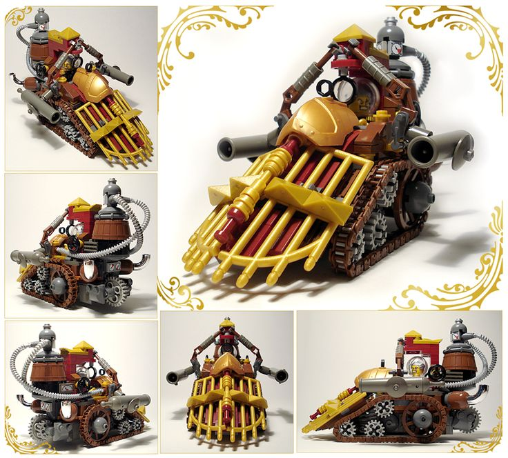 Lego SteamPunk train