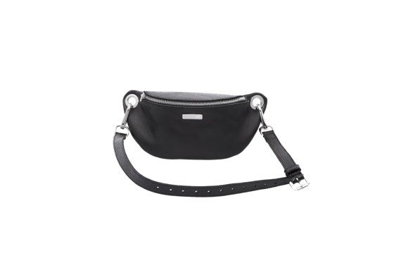 Leather bum bag, hip bag, black leather fanny pack #FannyPack #Accessories #MustHave #BumBag #HipBag #Fanny #Pack