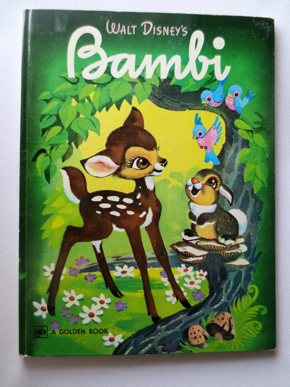Walt Disneys Bambi (1976 printing) Adapted by Melvin Shaw - Vintage Childrens Book I had this