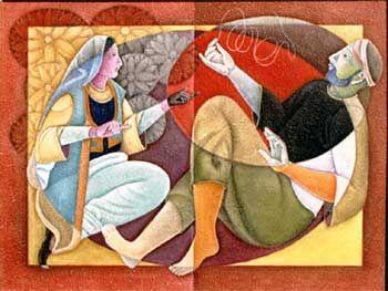 Gujral painting, Satish Gujral art, Rohit Bafna favorite gujral work