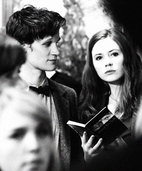The Doctor + Amy Pond I love the way Matt Smith can capture how The Doctor would really have looked at her!