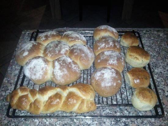 Zachte Witte Broodjeskrans recept | Smulweb.nl