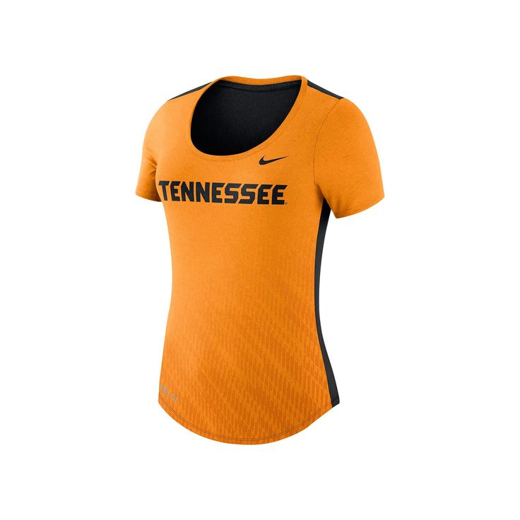 Women's Nike Tennessee Volunteers Dri-FIT Scoopneck Tee, Size: Medium, Orange