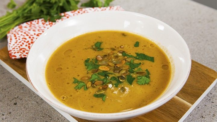 Vegetables winter soup
