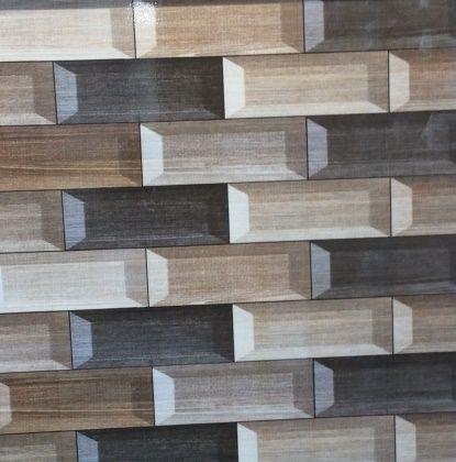 Wood lookalike floor tile  shiny tile size (450x450)