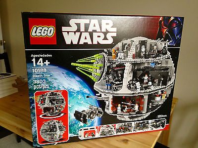 LEGO 10188 STAR WARS DEATH STAR -  BRAND NEW AND FACTORY SEALED.