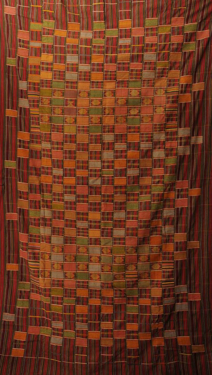 Africa | Woven textile from Ghana