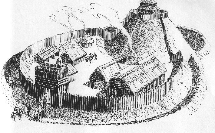 motte and bailey castles | Photographs copyright © 2002 by Jeffrey L. Thomas